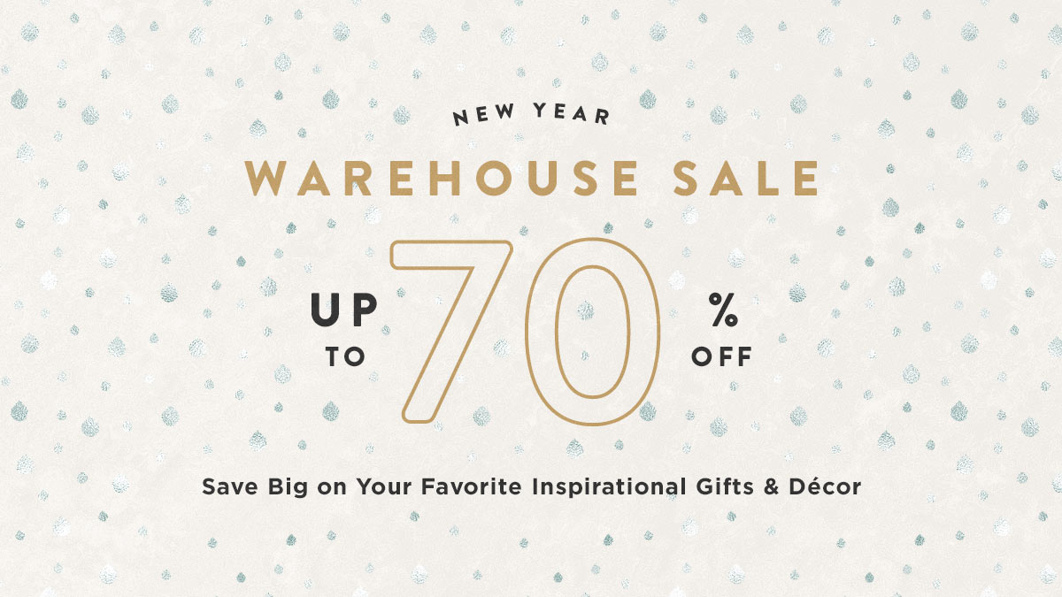 New Year Warehouse Sale - Up to 70% Off